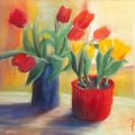 Tulpen Sehnsucht nach Frühling