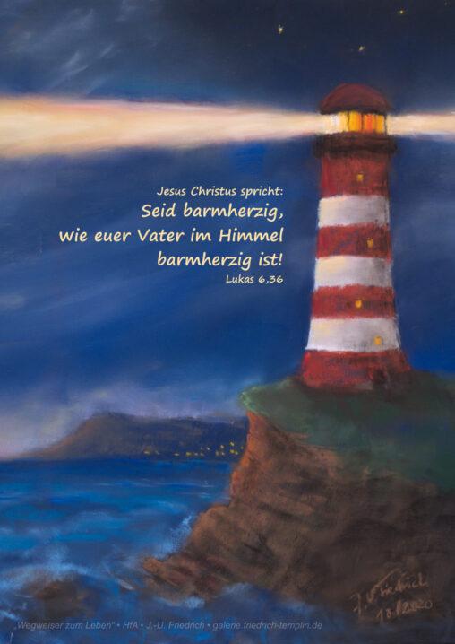 Pastell zur Jahreslosung 2021 von Jens-Uwe Friedrich Hochformat