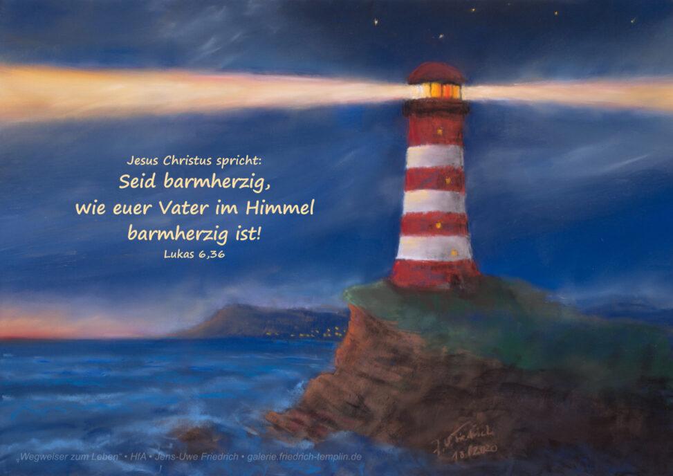 Pastell zur Jahreslosung 2021 von Jens-Uwe Friedrich Querformat